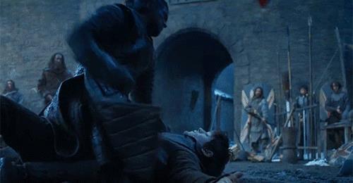 Jon Snow annienta Ramsay Bolton