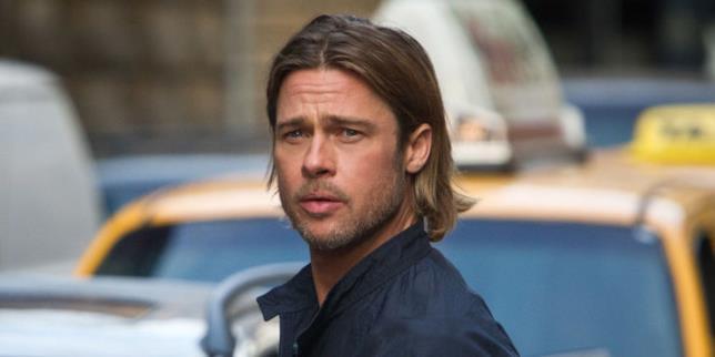 Worl War Z: Brad Pitt