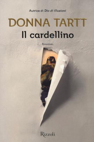 Copertina de Il cardellino, romanzo di Donna Tartt