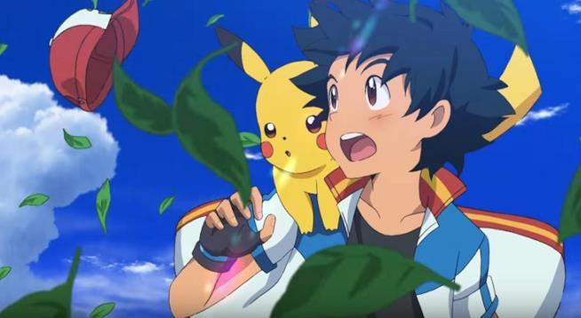 Ash e Pikachu nel nuovo film Pokémon: La Storia di Tutti