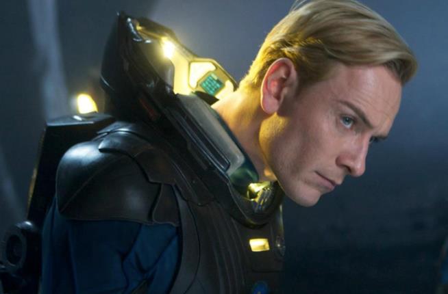L'androide David in Prometheus