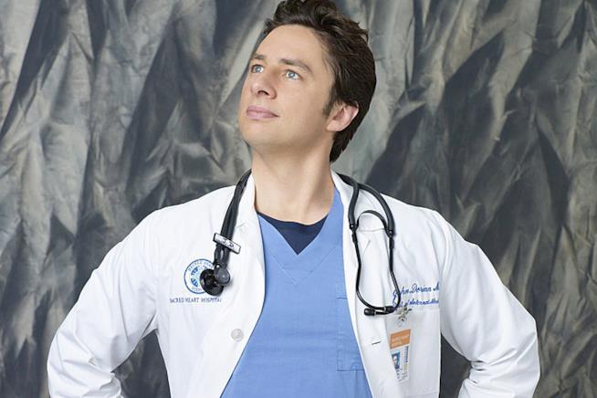 Il dottor J.D. Zach Braff