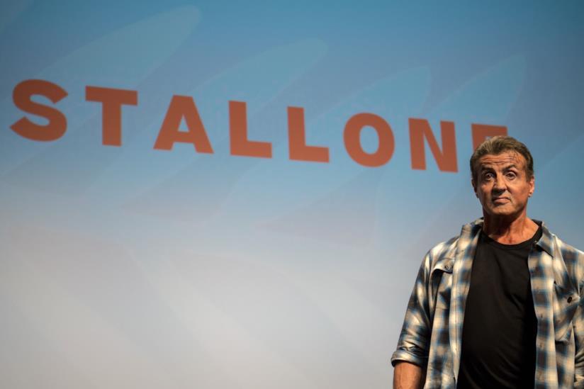 L'attore Sylvester Stallone