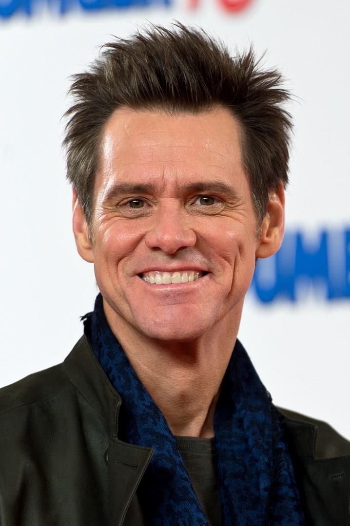Jim Carrey in primo piano