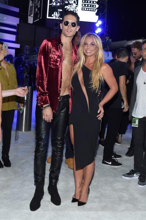 Britney Spears e G-Eazy ai VMA 2016