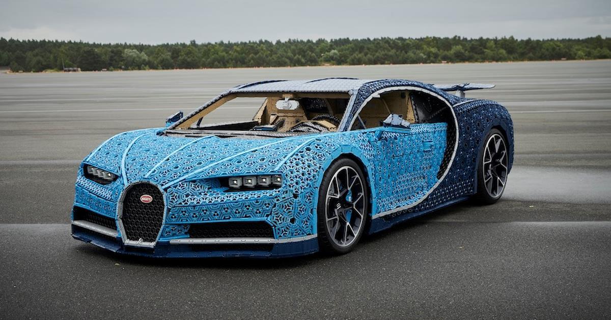 La Bugatti Di Lego Technic A Grandezza Naturale Si Pu 242