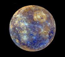 Uno scatto di Mercurio effettuato dalla NASA