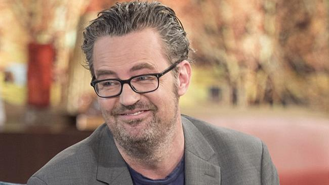 Matthew Perry in un talk show inglese