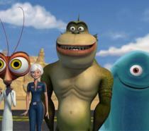 I personaggi di Mostri contro alieni