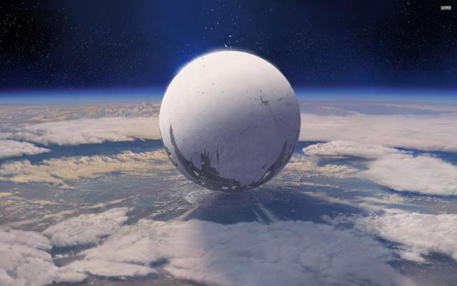 Il Viaggiatore, simbolo del franchise Destiny