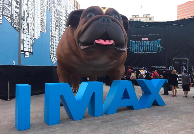 Inhumans, la serie Marvel nei cinema IMAX d'Italia