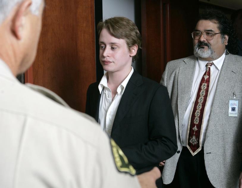 Macaulay Culkin al processo contro la pop star Michael Jackson