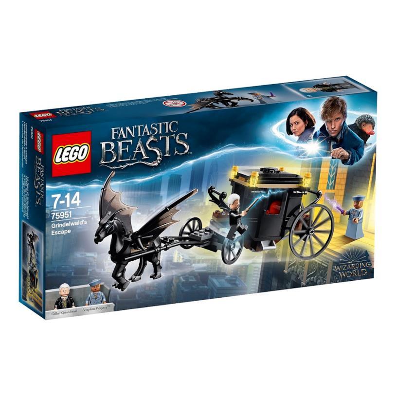 La fuga di Grindelwald - set LEGO