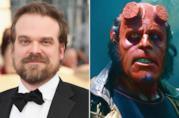 David Harbour e Ron Perlman nei panni di Hellboy