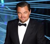 Leonardo DiCaprio alla cerimonia degli Oscar