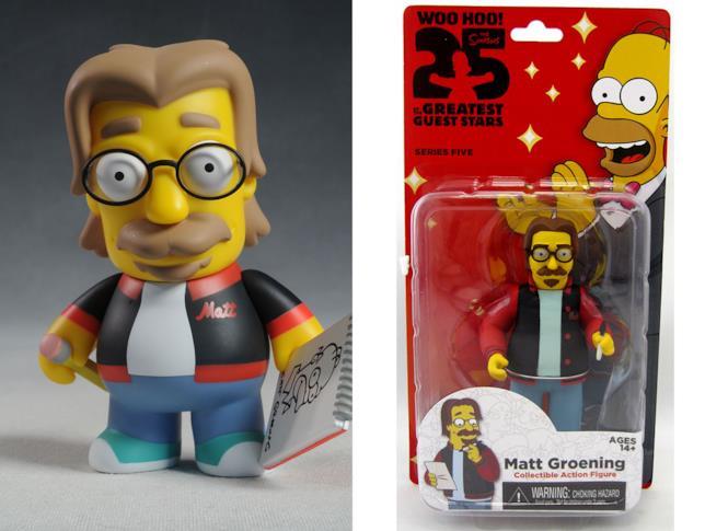 Le action figures di Matt Groening