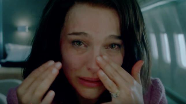 Natalie Portman in un'immagine di Jackie