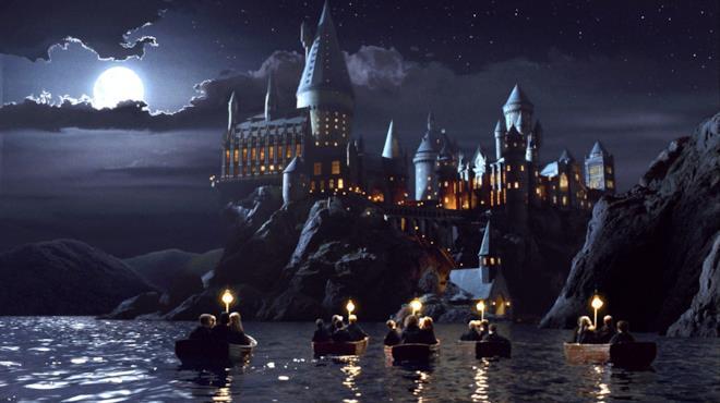 Il celebre castello di Hogwarts