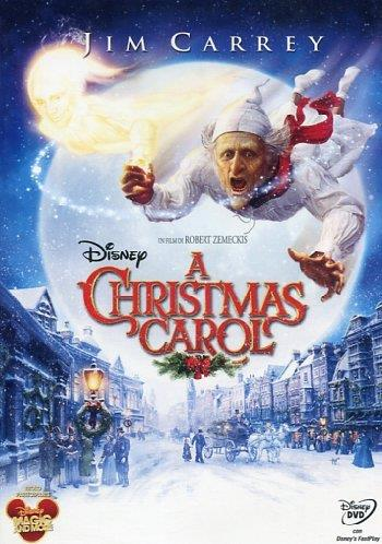 Jim Carrey come Scrooge