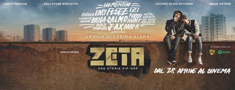 Zeta: la locandina del film italiano