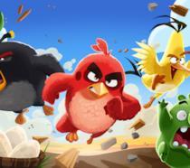 Un'immagine tratta dal film Angry Birds