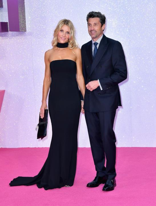 Patrick Dempsey e la moglie