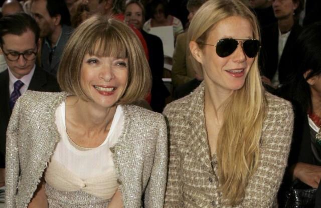 Anna Wintour e Gwyneth Paltrow