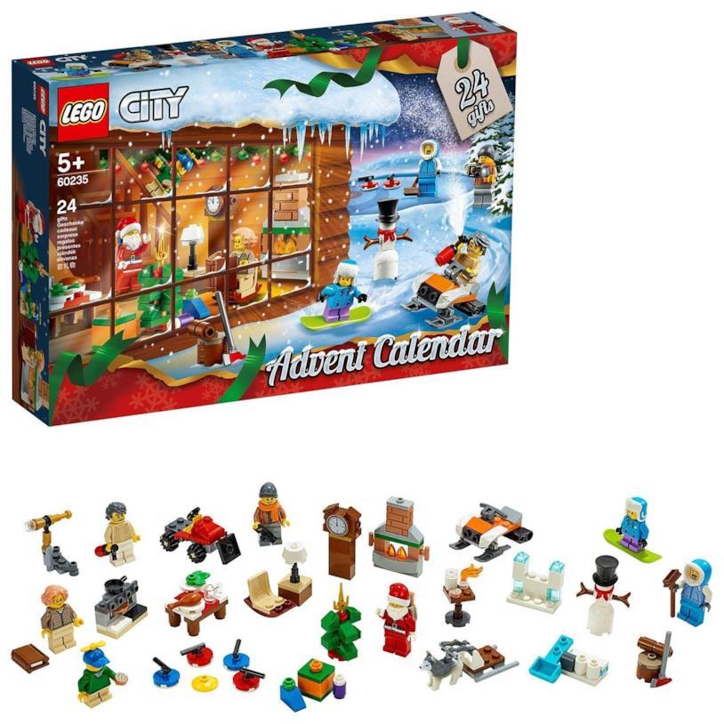 La magia del Natale nel calendario di LEGO City