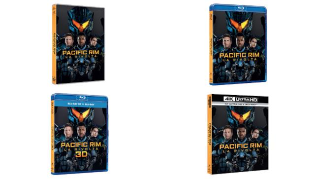 Pacific Rim - La Rivolta in versione DVD, Blu-ray e 4K