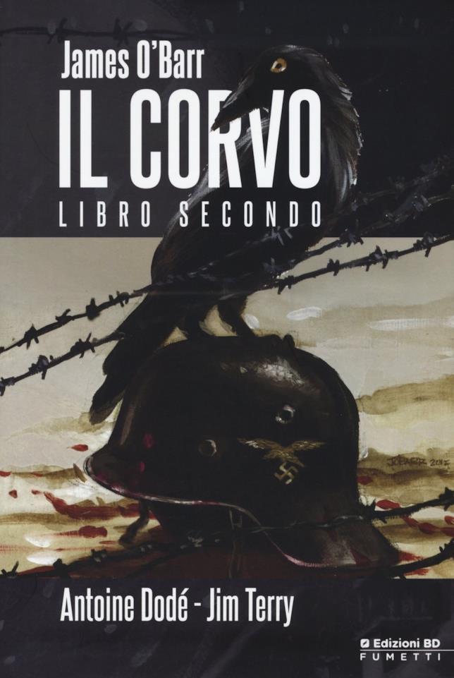 Cover dell'edizione regolare di Il Corvo Libro Secondo