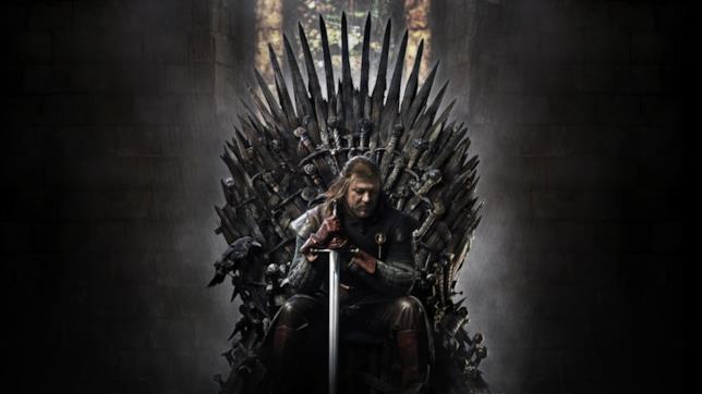 Ned Stark sul Trono di Spade