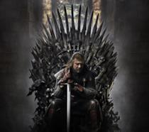 Ned Stark sul Trono di Spade in Game of Thrones 1