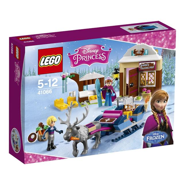 Dettagli del box di LEGO L'avventura sulla slitta di Anna e Kristoff