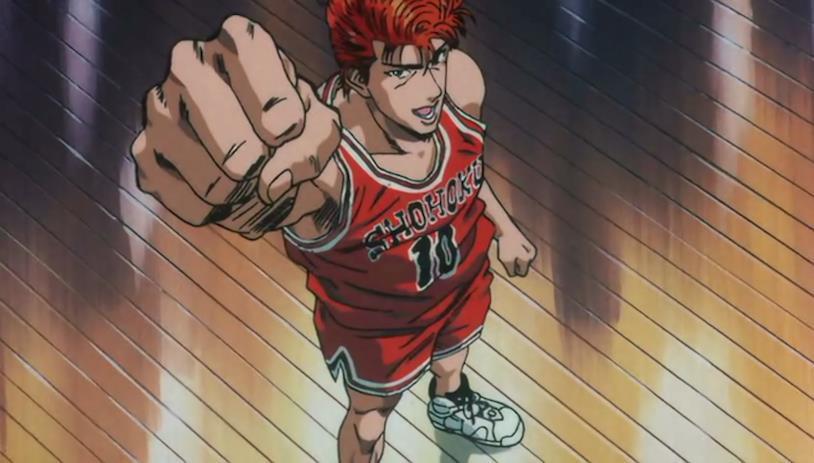"""Hanamichi, il """"re del basket"""""""