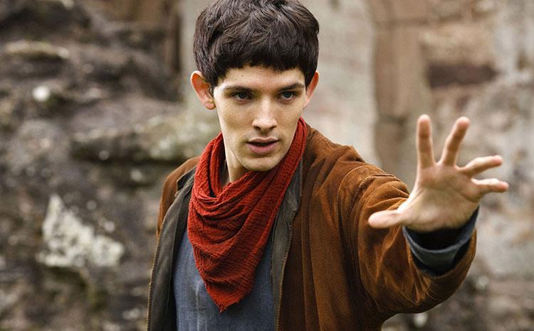 Merlin, scena dalla serie