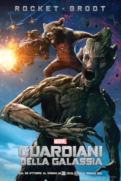 Il character poster di Rocket e Groot