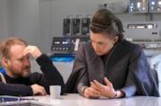 Carri Fisher nei nuovi scatti dal set di Star Wars: Gli Ultimi Jedi