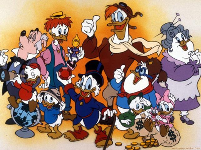 La vecchia serie di Ducktales