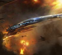 Il prototipo della Normandy in Mass Effect 3