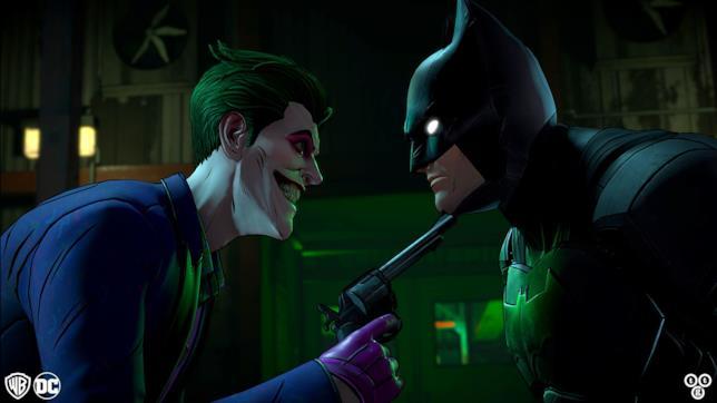 Joker e Batman in Batman: The Enemy Within