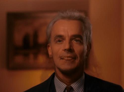 Una scena dalla seconda stagione di Twin Peaks