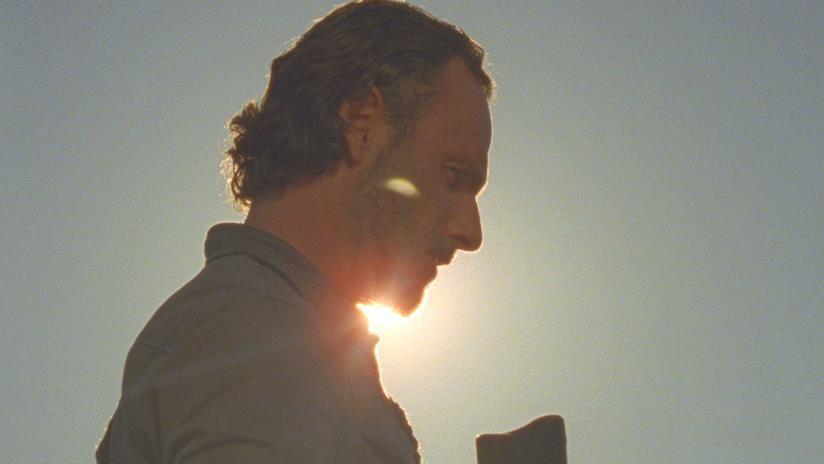 Rick Grimes in The Walking Dead 8