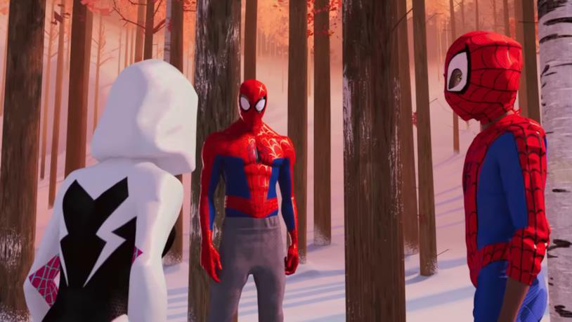 Spider-Gwen, Peter Parker e Miles Morales