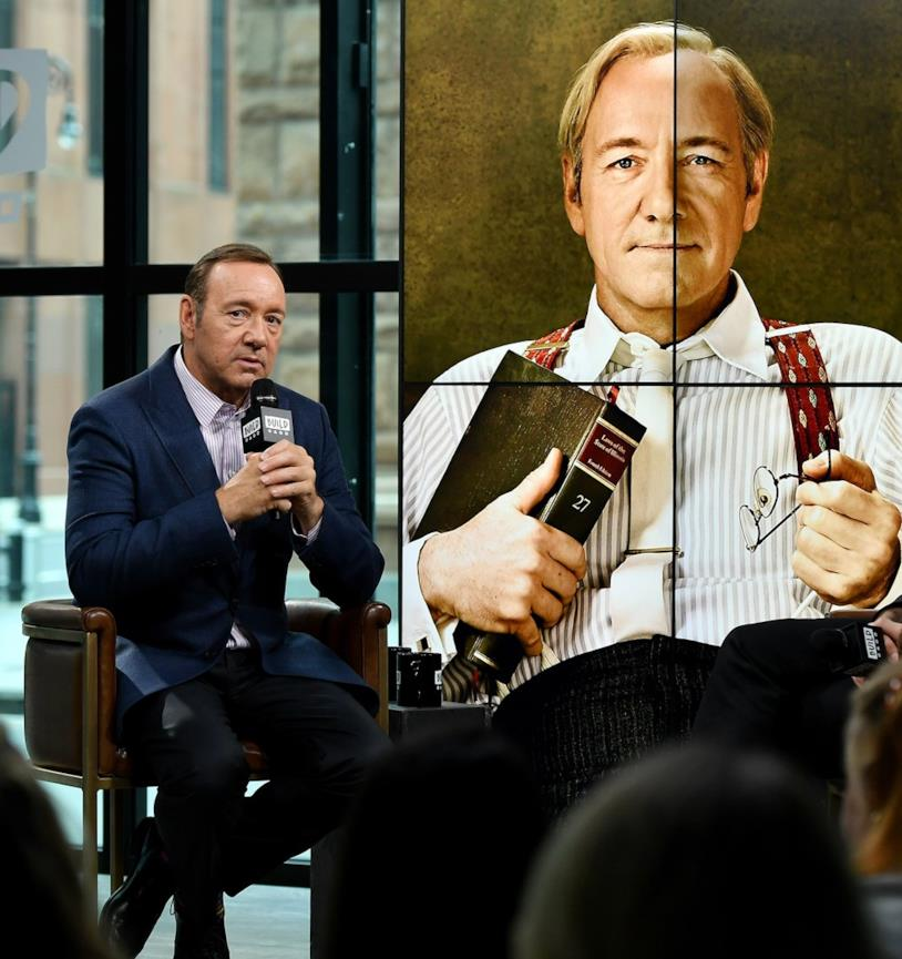 Kevin Spacey e Frank Underwood