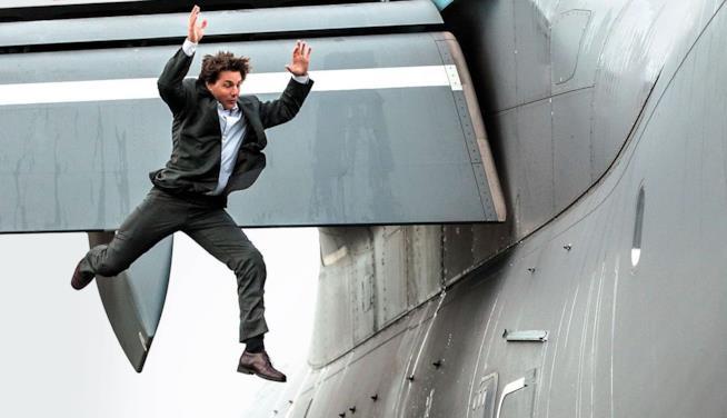 Una scena di Mission Impossible - Rogue Nation