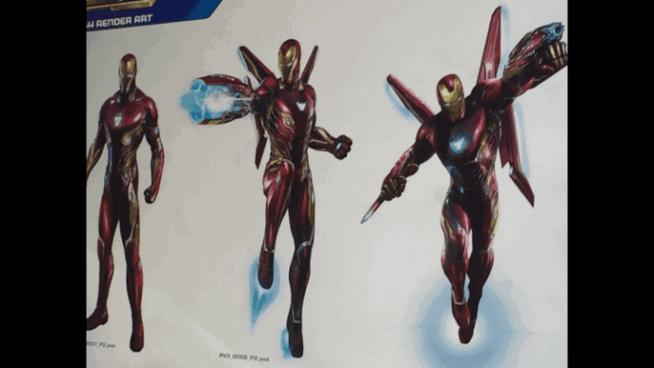 La nuova armatura di Iron Man