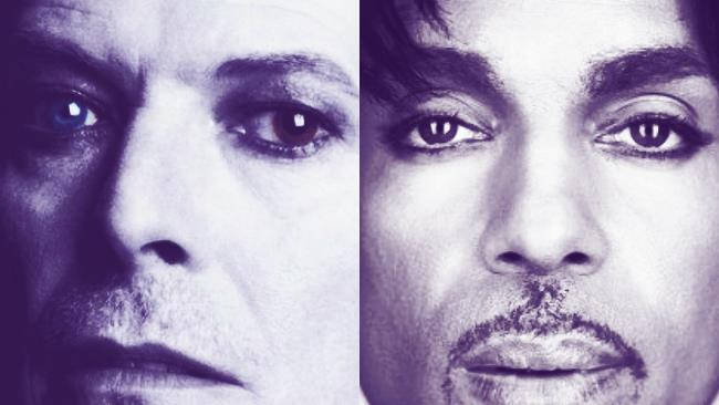David Bowie e Prince sulle copertine dei libri