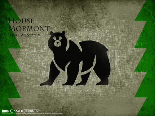 Il motto e lo stemma di Casa Mormont