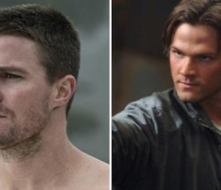 Stephen Amell di Arrow e Jared Padalecki di Supernatural