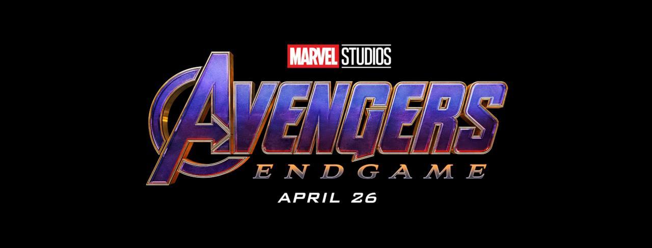 Il logo Marvel Studios di Avengers: Endgame
